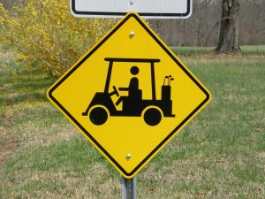 Golf-cart-sign-300x225